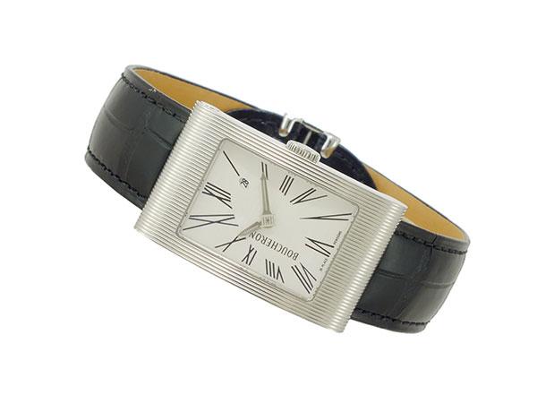 Watchlist rakuten global market bush ron boucheron quartz men watch wa009301 crc during for Celebrity quartz watch