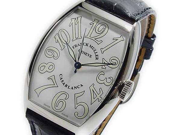 フランクミュラー FRANCK MULLER カサブランカ 自動巻 メンズ 腕時計 5850CWHTBLKALI 文字盤、全体