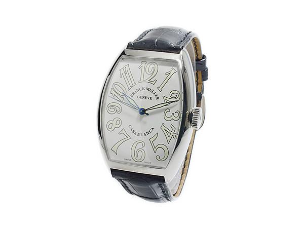 フランクミュラー FRANCK MULLER カサブランカ 自動巻 メンズ 腕時計 5850CWHTBLKALI 着用イメージ