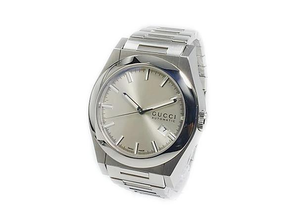 グッチ GUCCI パンテオン PANTHEON クォーツ メンズ腕時計 YA115202