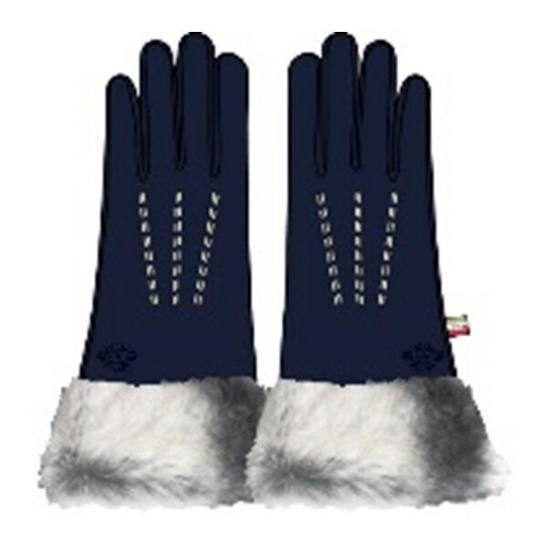 オロビアンコ OROBIANCO レディース 手袋 7.5 ORL-1584-NV ネイビー