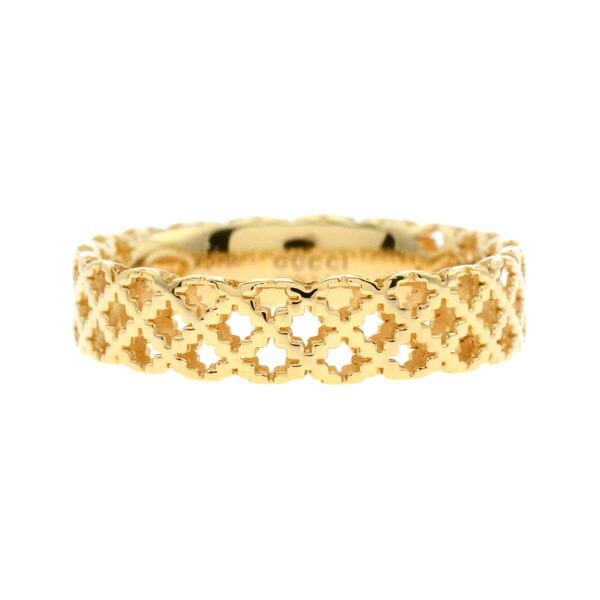 グッチ GUCCI リング 指輪 ユニセックス 11号 341236-J8500/8000/11 ゴールド