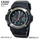 5 Casio CASIO G-Shock G-SHOCK electric wave solar multiband watch AWGM100-1A