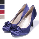 Immediate delivery transformation ribbon satin pumps beauty leg heel 10P28oct13