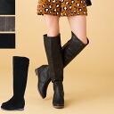 ◆ back zip ◆ シンプルニーハイ boots 10P18Oct13