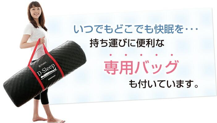 専用バッグも付いています。