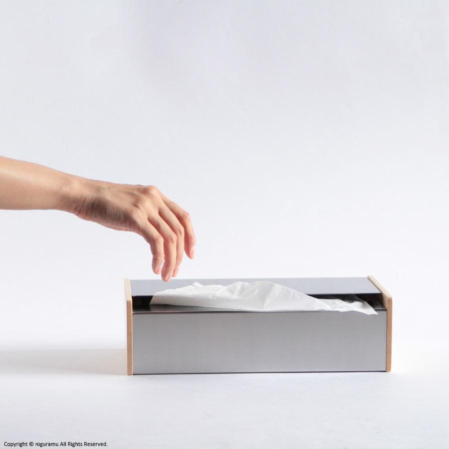 ティッシュボックス/メイプル