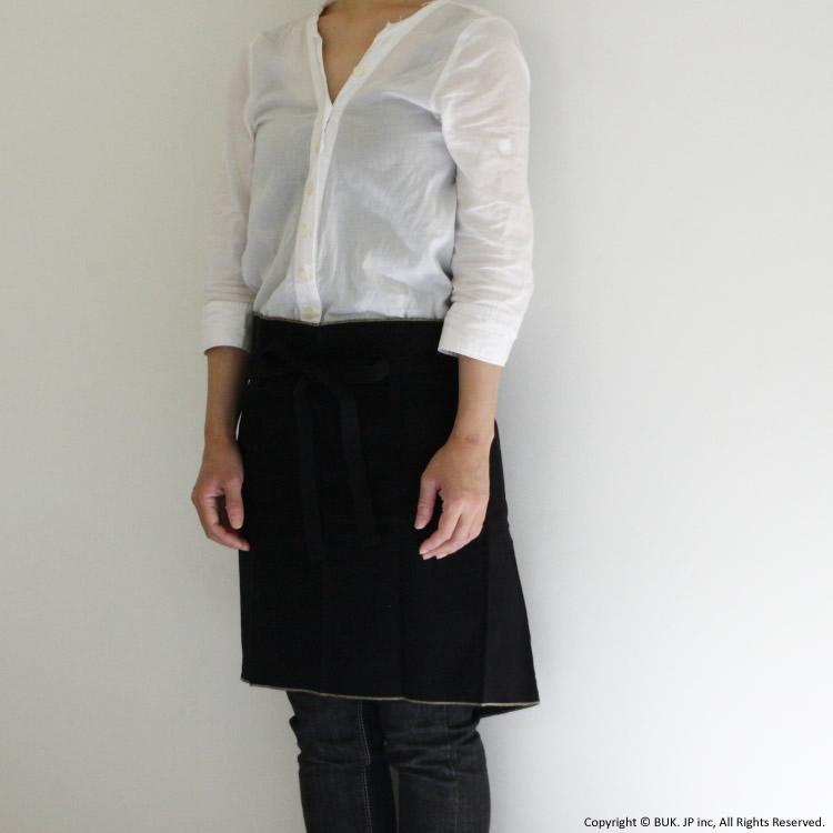 APRON short / 黒