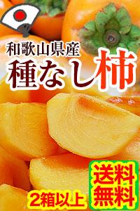 和歌山のたねなし柿 ご予約開始!