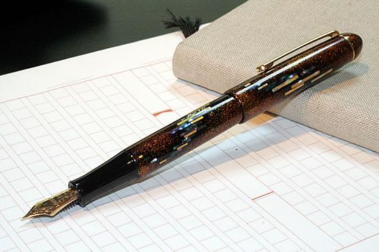 奥罗拉铂白金钢笔 3776人