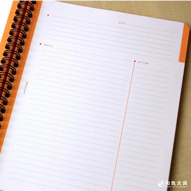 ページの見開き右側がスタートページ