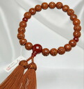 Rosary Kongo Linden 22 beads agate with rayon bunch (tea) each sect men's Rosary and Rosary _ men _ wood _ bracelet _ Buddhist supplies _ funeral _ bunch _ prayer beads _ men _ beads bless _ accessories _ breath _ bangles _ stones _ Memorial _ Rakuten _