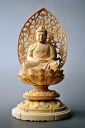 Luxury on carving Amitabha Buddha-2