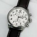 Junkers-JUNKERS quartz chronograph Silver wristwatch watch