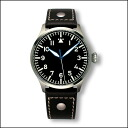 アルキメデ pilot H dial 39 mm watch UA7969-A2.1 watch black leather