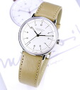 Ordered products Max bill ss beige ベルトモデル 027-3701 Germany-made hand-wound watch watches