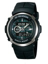Casio G-Shock G-300-3AJF watch clock