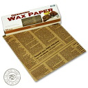 Wax paper Cafe au lait letter patterns