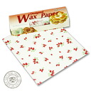 Design wax paper Strawberry