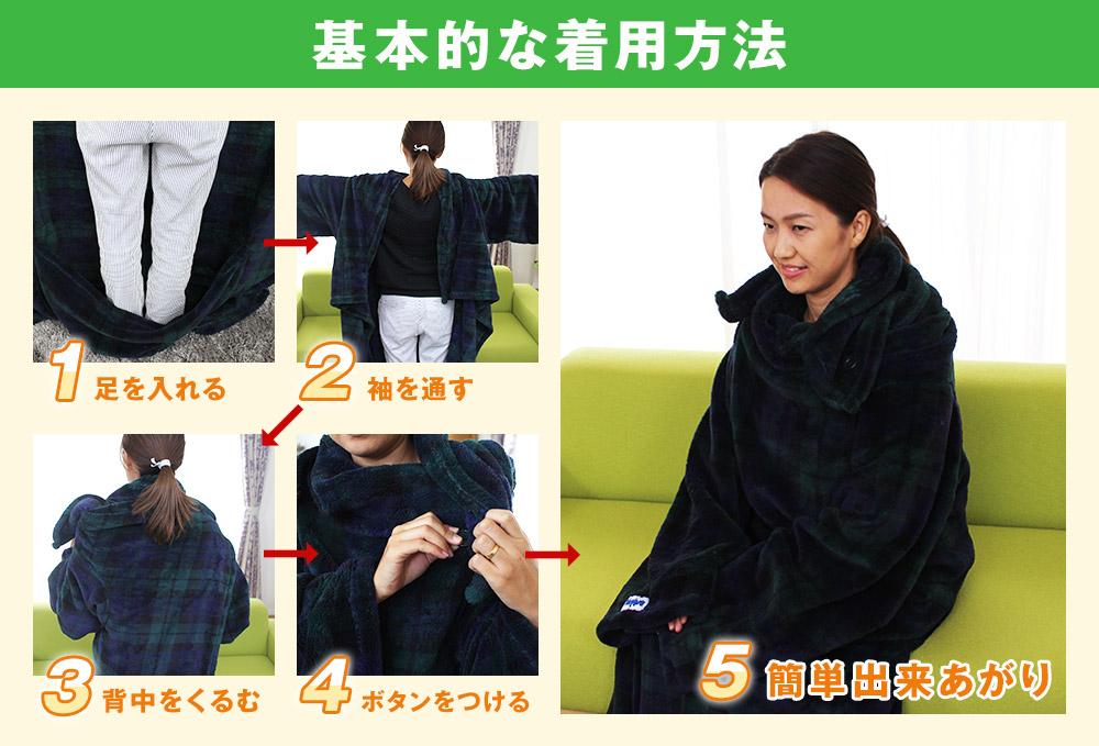 基本的な着用方法