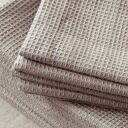 Honeybee linen cloth linen waffle towel natural (tea) fs3gm