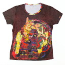 The Young Girl largest Gustav Klimt and General ladies print t-shirts series [T-W020-KL02]