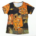 Kiss Gustav Klimt The Kiss ( 1907 piece ) largest, pattern ladies print t-shirts series