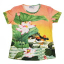 Beauties of nature, Paradise's largest domestic and General ladies print t-shirts series