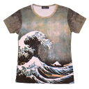 Katsushika Hokusai, tofu seorak 三十六 Deluxe NEW version largest, pattern ladies print t-shirts series