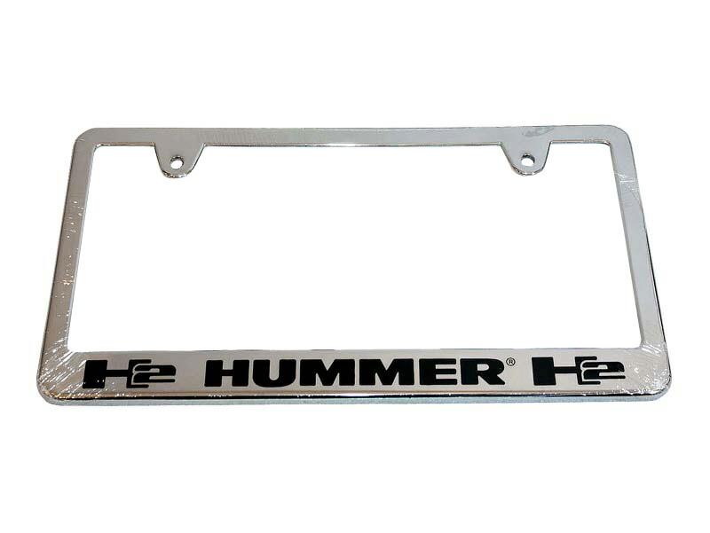 ナンバーフレーム ハマーH2 日本サイズ用