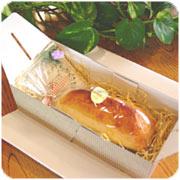 お芋とカスタードクリームのハーモニー「青い花のスウィートポテト」