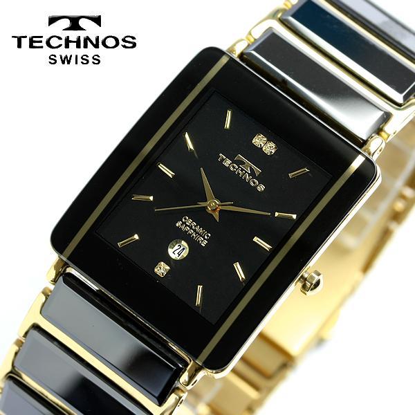 Cameron rakuten global market technos technos mens ceramic sapphire black watch tam530gb for Technos watches