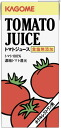Kagome unsalted tomato juice 1 L paper Pack 6 pieces (for hotel) [salt-free vegetable juice 1000 ml.