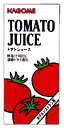 Kagome tomato juice 1 liter Pack 6 pieces (for hotel) [salted]