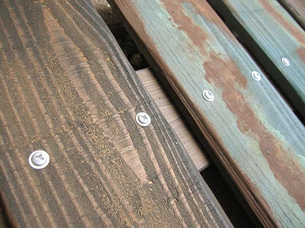 カットした板も全部茶色に ... : 自転車 フレーム カスタムペイント : 自転車の
