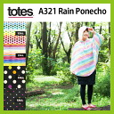 Totes A321totes rain poncho raincoats | outdoors | FES | trekking | water-resistant | water-repellent | cute | design | fashionable | Packable | summer festivals | gardening | climbing | rain wear | rainwear | Kappa | raincoat | umbrella | folding