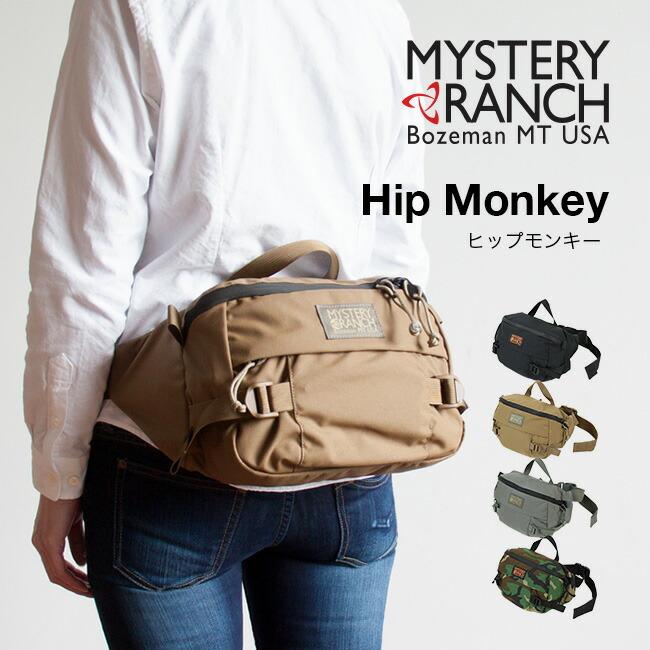 MYSTERY RANCH ミステリーランチ ヒップモンキー ウエストバッグ メッセンジャーバッグ ブラック コヨーテ フォリッジ ウッドランドカモ