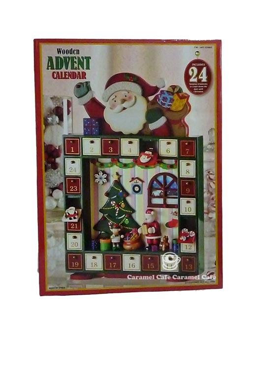 ... Market: 2012 NEW Christmas advent calendar ★ luxury wooden calendar