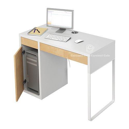 caramelcafe rakuten global market micke to micke desks white pink 30180053. Black Bedroom Furniture Sets. Home Design Ideas