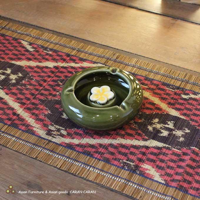 タバナン焼き 陶器の灰皿