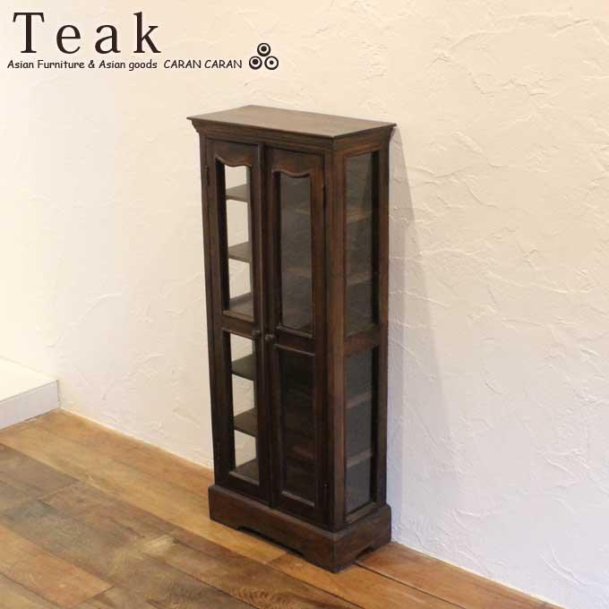 [亚洲家具]   柚木柜木柜玻璃平开门