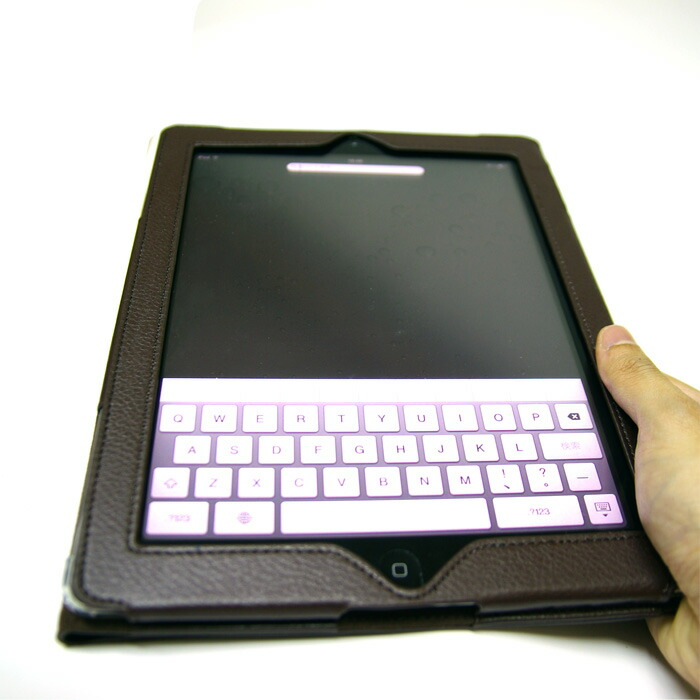 Leather case for exclusive use of iPad2
