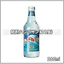 360 ml in capacity in Korean shochu, ハンラサン (21% of alcohol frequency)