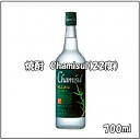 700 ml in capacity in Korean shochu, チャミスル (Chamisul) (22% of alcohol frequency)