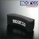 Sparco, SPARCO CORSA & neck pillow-black SPC4004