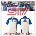 STI GT team polo shirt L