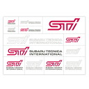 STI transcription sticker STSG14100200