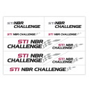 STI NBR transcription sticker STSG14100210