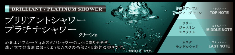 BLANG(ブラング)プラチナシャワー・ブリリアントシャワー