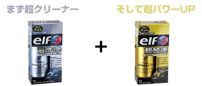 エルフガソリン添加剤、最強の組合せ